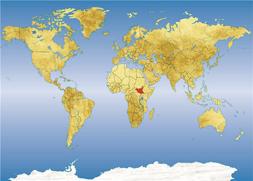 Južni sudan položajna karta