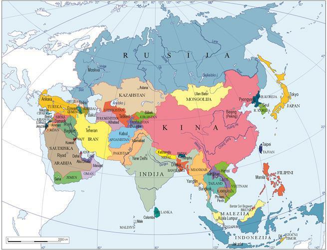 azija karta karta svijeta   ThingLink azija karta