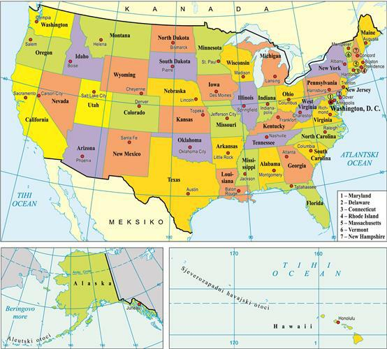 Sjedinjene Americke Drzave Proleksis Enciklopedija